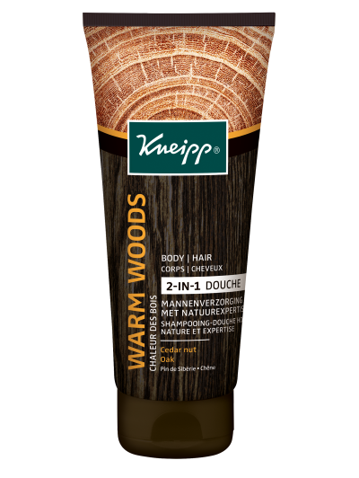 Kneipp for Men 2-in-1 Douche Warm Woods