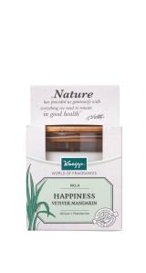 Kneipp Scented Candle / Geurkaars Vetiver-Mandarin