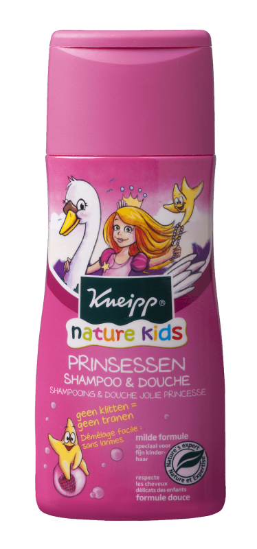 Nature Kids Prinsessen Shampoo & Douche