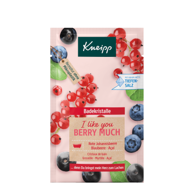 Badekristalle I like you berry much