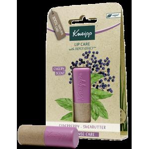 Kneipp® balzám na rty Černý bez s bamuckám máslem
