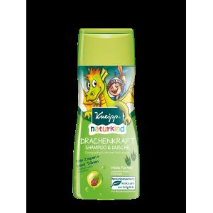Dětský sprchový gel a šampon Kneipp Dračí síla