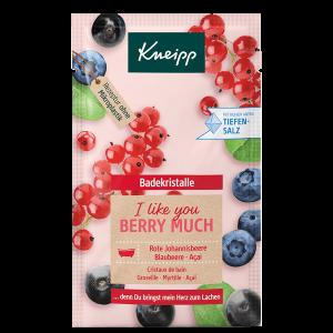 Kneipp Sůl do koupele I like you berry much