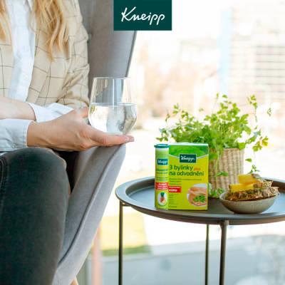 Doplněk stravy Kneipp 3 bylinky na odvodnění