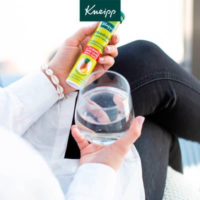 Kneipp Odvodnění šumivé tablety zabraňují zadržování vody v těle