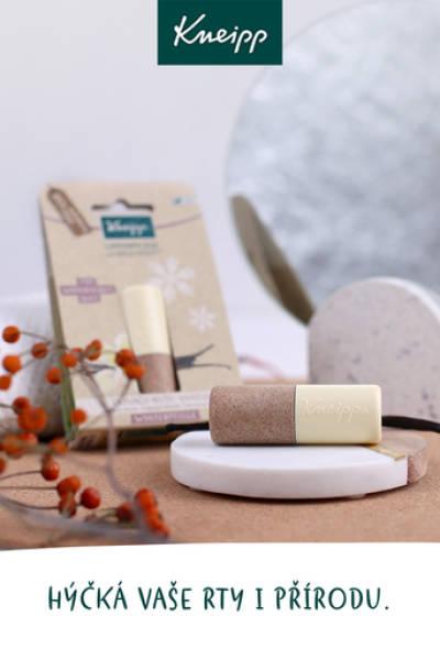 Kneipp® balzám na rty Vanilka a cupuacu máslem