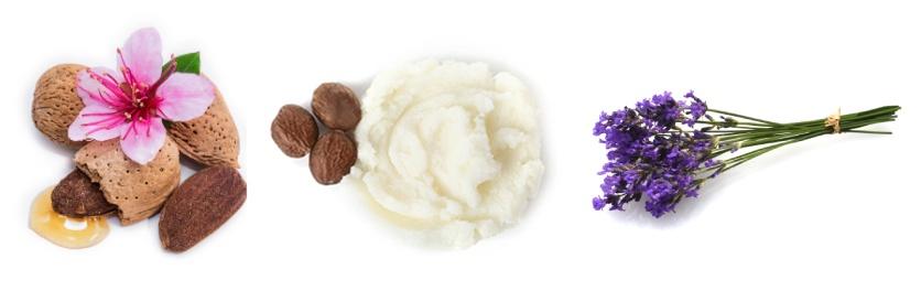 Složení tělového mléka Levandulové snění