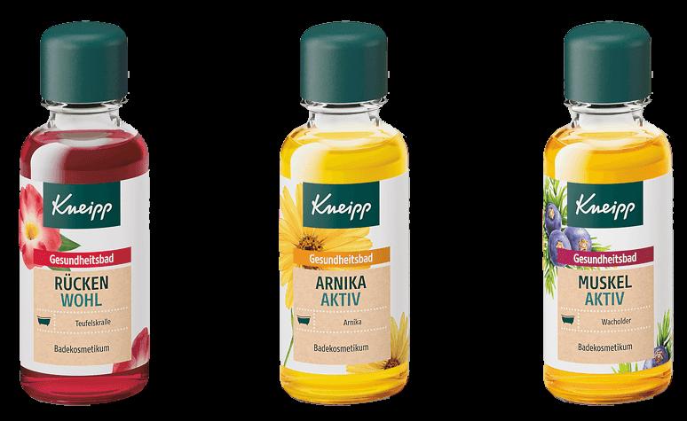 Sada bylinných olejů Kneipp