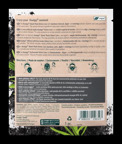 Mascarilla facial Detox Care