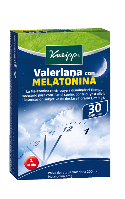 Valeriana con Melatonina