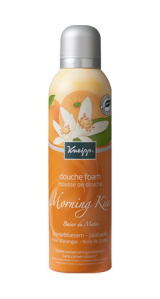 Mousse de Douche Baiser du Matin - Fleur d'oranger Huile de jojoba