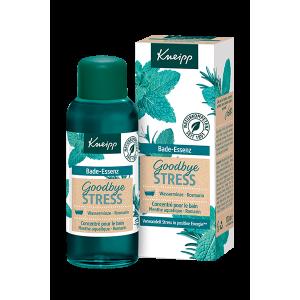 Huile de bain Goodbye Stress avec packaging