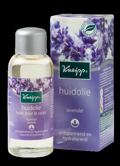 Huile de Massage Relaxante et Hydratante - Lavande