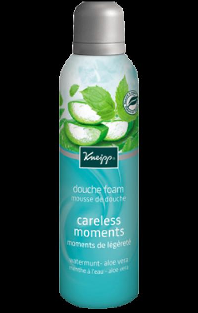 Mousse de douche Moments de légèreté - Menthe à l'eau & Aloe vera